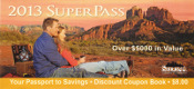 2013 Sedona SuperPass Coupon Book